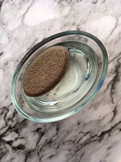 disinfect pumice stone