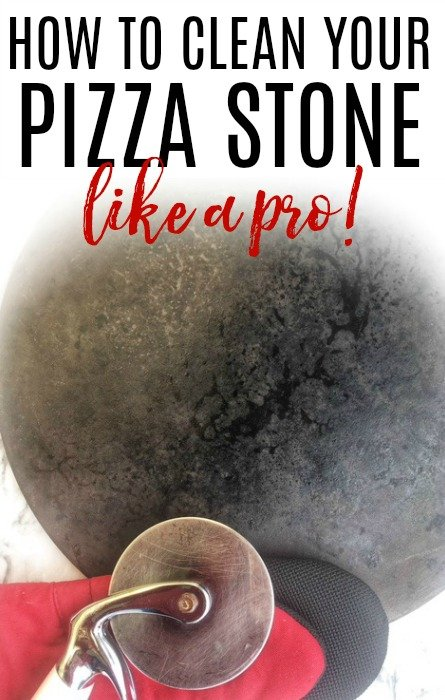 clean pizza stone