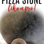 clean pizza stone