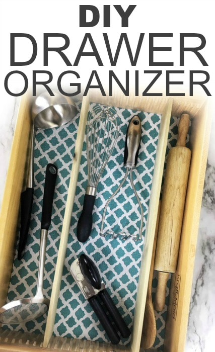 Easy to Make DIY Drawer Organizer
