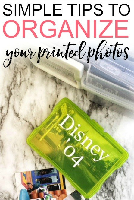 Easy Tips To Organize Print Photos Frugally Blonde