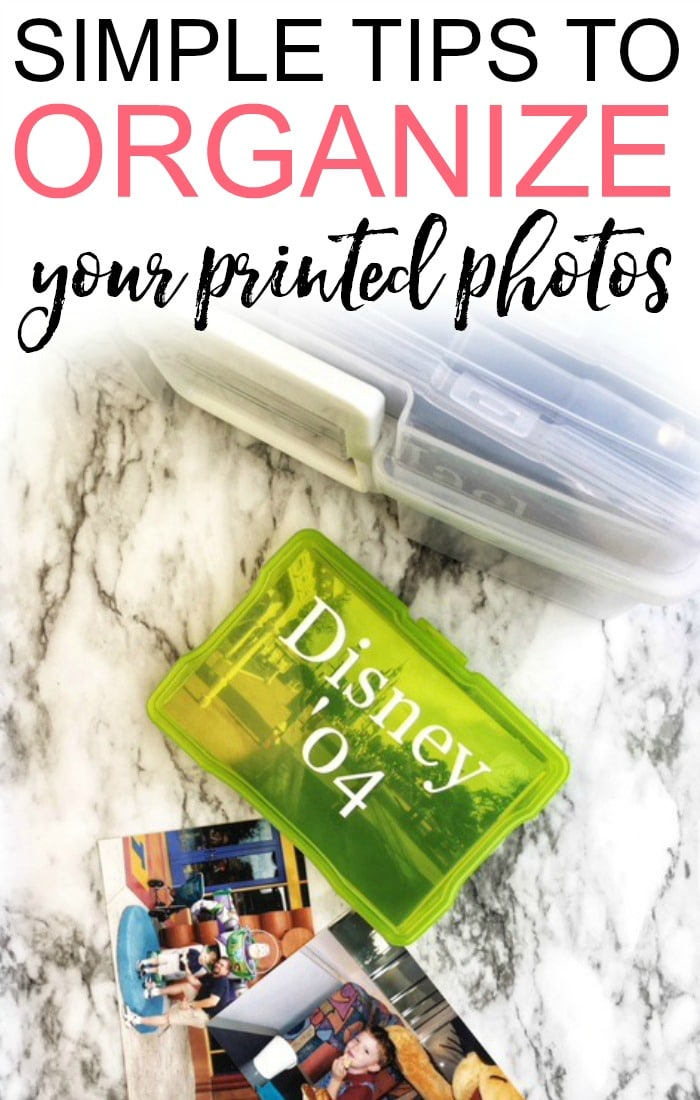 Tired of the print photo clutter? Check out these easy tips to organize print photos. You can easily organize your photos without a lot of time.