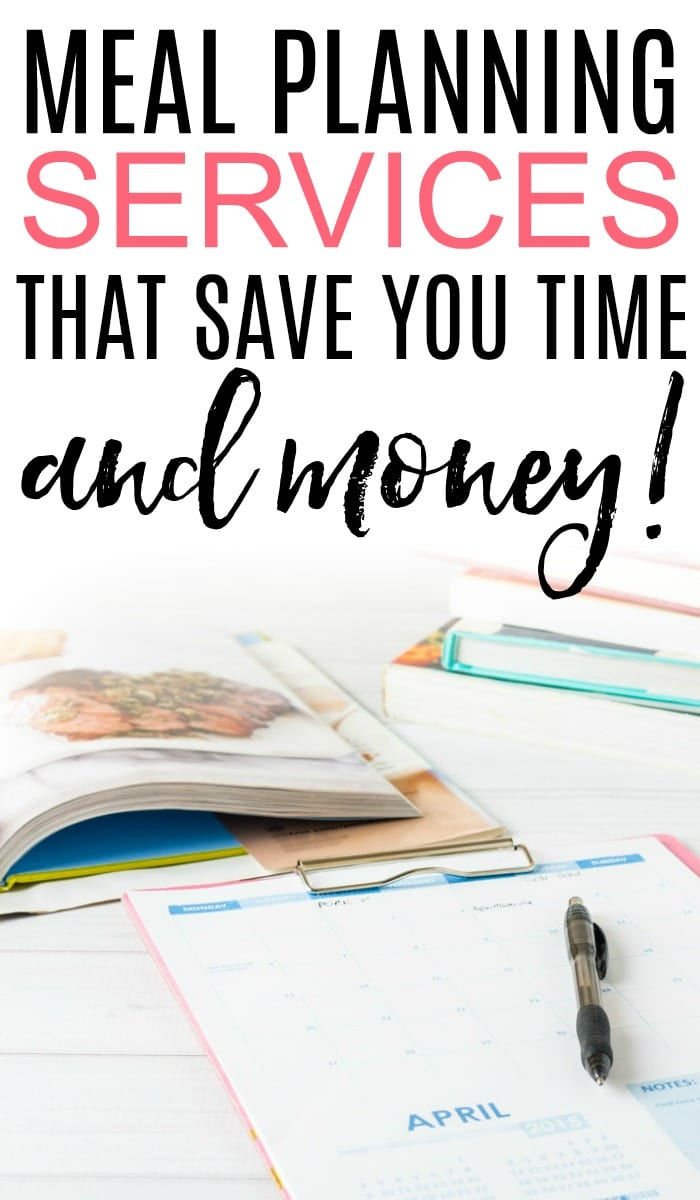 Get organized and save money this year with these meal planning services. A meal planning service can save you hours of planning and save you money too!