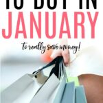 what to buy in january