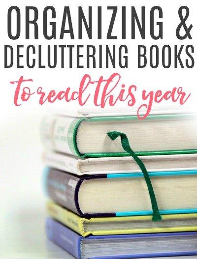 decluttering books