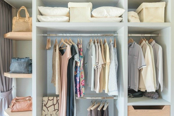 things to declutter in the closet