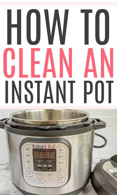 clean an instant pot