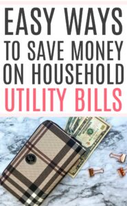 easy way to save money on household bills