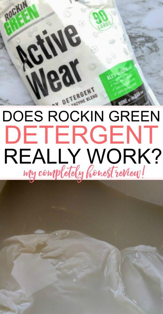 rockin green detergent really work