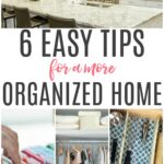 tips for a more organized home