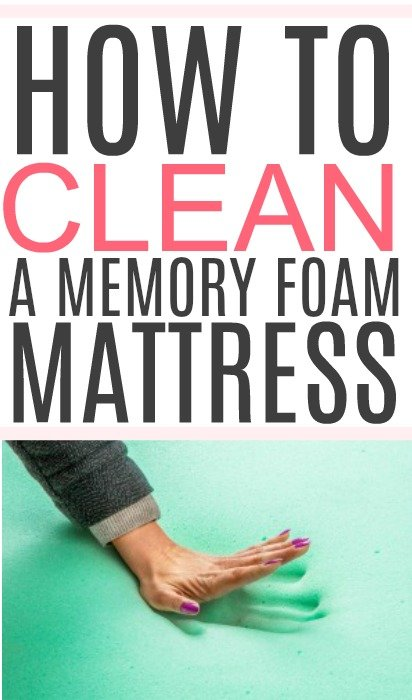 clean a memory foam mattress