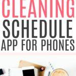 best cleaning schedule app for phones