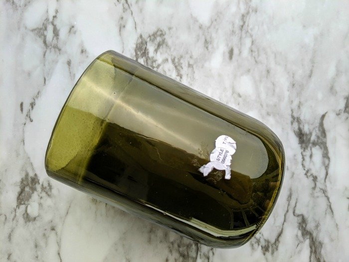 removing sticker residue from glass