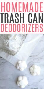 homemade trash can deodorizer tabs