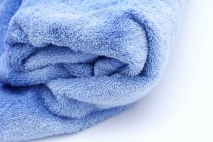 keep towels fluffy and soft