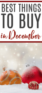 the best things to buy in december