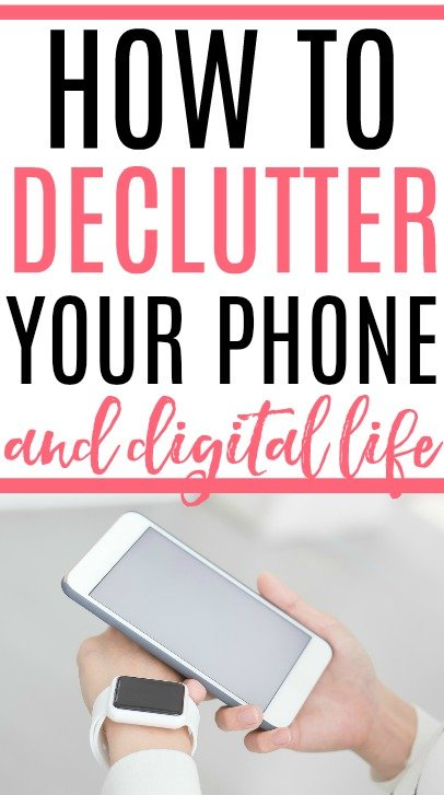 declutter your phone