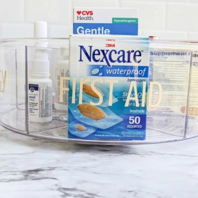 Simple Tips To Organize Your Medicine Cabinet
