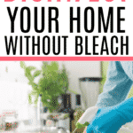 cleaning home without bleach