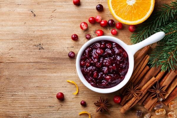 cranberry sauce to freeze
