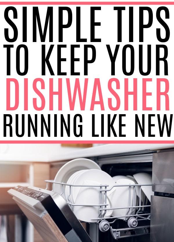 dishwasher run like new