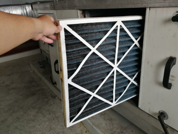 change furnance filter when spring cleaning