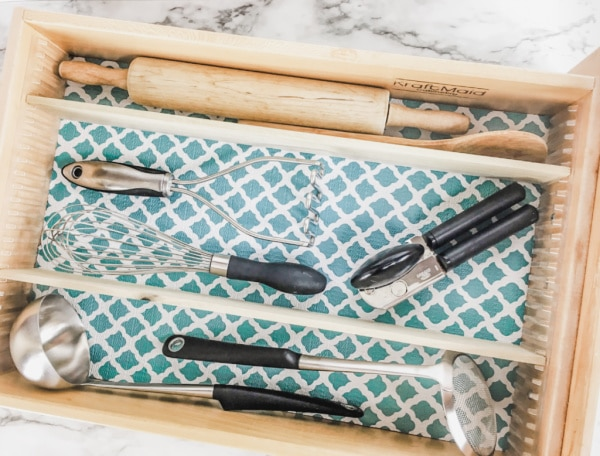 decluttering drawers